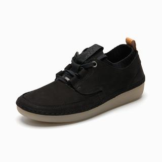 Clarks 其乐 女鞋Nature IV.英伦风系带板鞋女休闲鞋平底鞋运动鞋单鞋