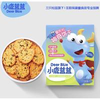 小鹿蓝蓝 婴儿饼干 80g