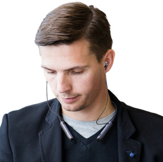 PHILIPS 飞利浦 TAPN505 入耳式颈挂式主动降噪蓝牙耳机 黑色