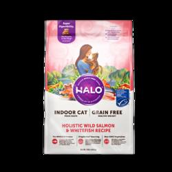HALO 自然光环 鱼肉全猫粮 10磅