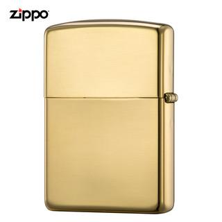 ZIPPO 之宝 Zippo芝宝打火机正版美国原装进口火机zippo官方旗舰18K金机 195