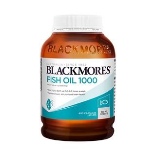 88VIP : BLACKMORES 澳佳宝 原味鱼油软胶囊   400粒