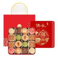 yotime 悠享家 曲奇饼干 混合口味 580g 礼盒装
