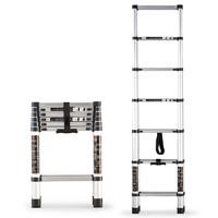 GULEINUOSI 古雷诺斯 N6157 梯子家用伸缩梯折叠梯人字梯梯 1.7m