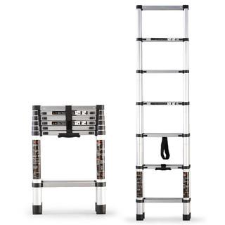 GULEINUOSI 古雷诺斯 梯子家用伸缩梯折叠梯人字梯梯