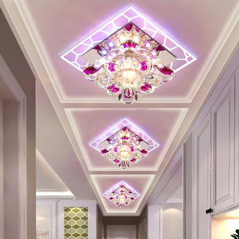 过道灯走廊灯简约现代玄关灯入户客厅灯阳台灯创意射灯led天花灯