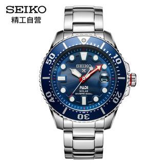PLUS会员 : SEIKO 精工 PADI特别款 SNE435J1 男士太阳能腕表