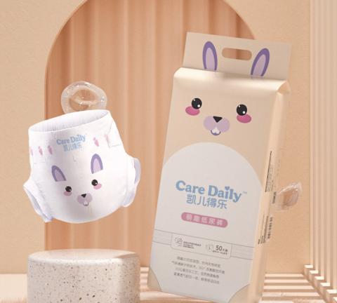Care Daily 凯儿得乐 萌趣纸尿裤 L100片