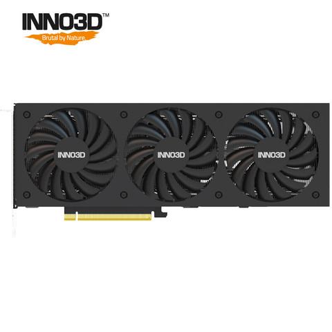 Inno 3D 映众 Inno3D)GeForce RTX 3070 Ti 黑金至尊版OC 8GB GDDR6X 台式机/游戏/电竞/绘图/运算/AI/独立显卡