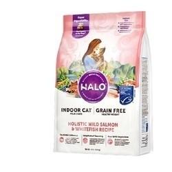 PLUS会员 : HALO 自然光环 鱼肉成猫粮 10磅/4.53kg
