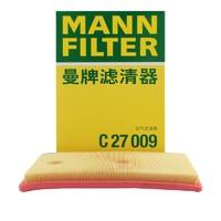 MANNFILTER 曼牌滤清器 空气滤清器 C27009