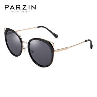 PARZIN 帕森 新款潮流猫眼偏光太阳镜