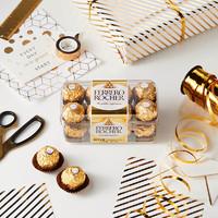 FERRERO ROCHER 费列罗 金球榛果威化巧克力 16粒*3盒