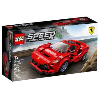 LEGO 乐高 76895 法拉利F8 积木玩具拼装超级赛车系列