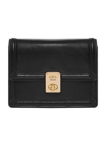 COACH 蔻驰 奢侈品 女士 专柜款 皮质迷你单肩斜挎包腰包 88499