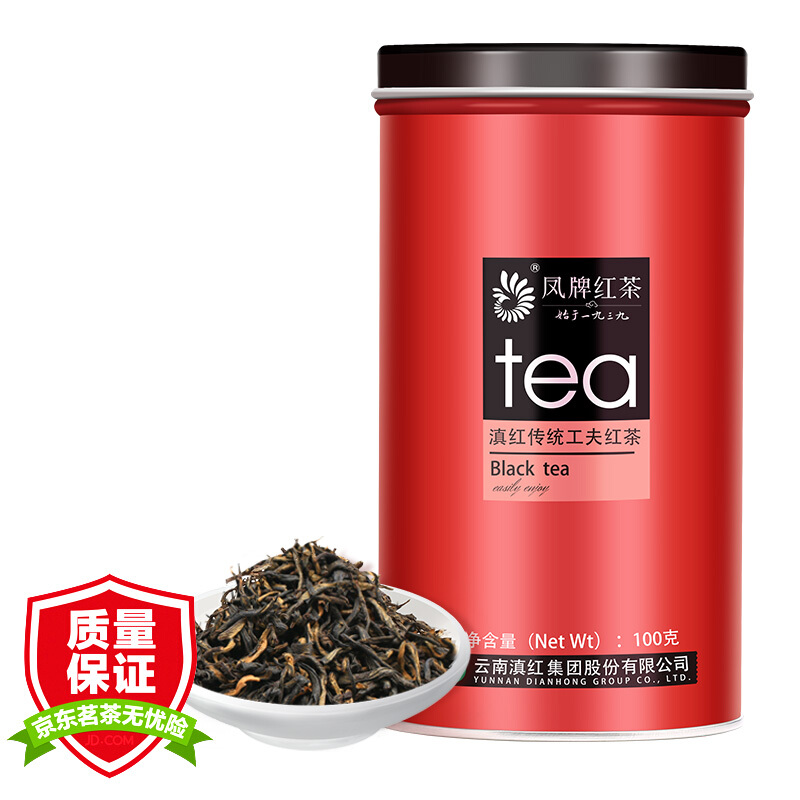 凤牌 特级滇红工夫茶 100g