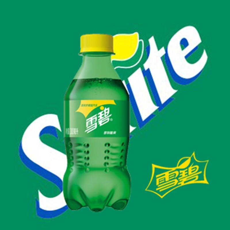 Coca-Cola 可口可乐 雪碧柠檬味汽水碳酸饮料迷你小雪碧 300ml*6瓶