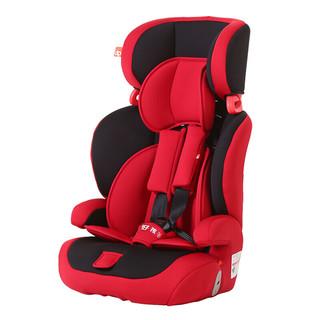 gb 好孩子 CS618-N003 儿童安全座椅 红黑色(9个月-12岁)