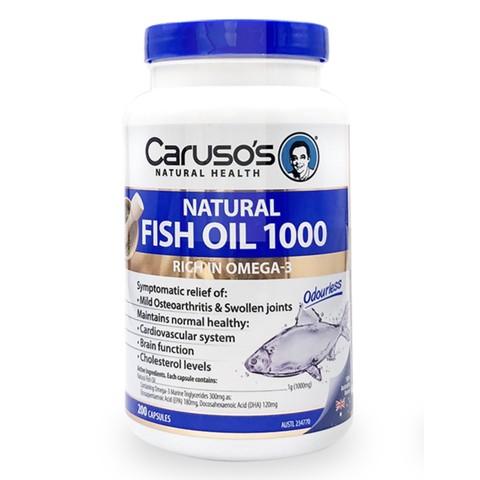 carusos 鱼油 200粒