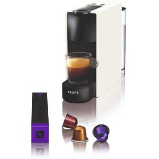 KRUPS 克鲁伯 德国Krups Nespresso Essenza家用迷你胶囊咖啡机XN1101 乳白