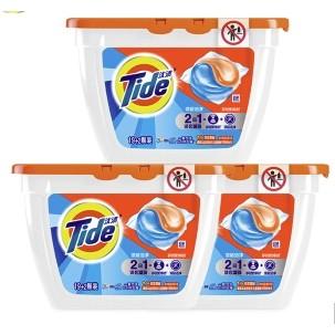 有券的上:汰渍 洗衣凝珠 63颗+皓刻 牙膏 130g*2件