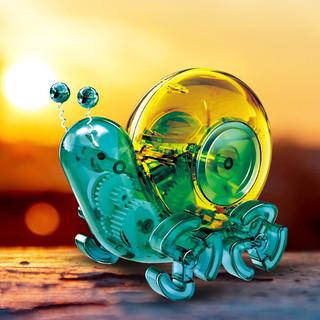 Bachi 倍奇 steam玩具 儿童科学实验科教拼装 机械太阳能动力蜗牛 早教启蒙 男孩女孩 生日新年礼物