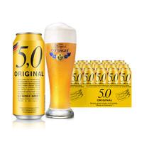 OETTINGER 奥丁格 5.0 精酿原浆 24罐*500ml罐 整箱装