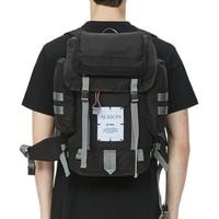 McQ 标签缝饰双肩包