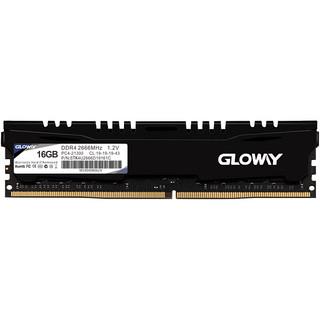 GLOWAY 光威 悍将系列 DDR4 2666MHz 黑色 台式机内存 16GB