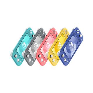 Nintendo 任天堂 Switch NS掌机 便携式游戏机 NS Lite 日版 蓝色 珊瑚粉