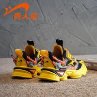 贵人鸟 男童鞋子2021年春夏透气春秋中大童网鞋男孩夏季儿童运动鞋