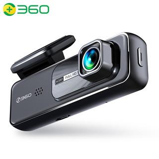 360 行车记录仪K380套装版 微光夜视 高清录影 智能语音 隐藏式安装(内含32G高速tf卡)