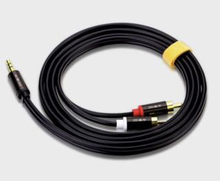 JH 晶华 合金音频线 3.5mm 1m