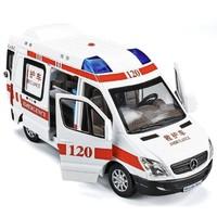 邦娃良品 合金模型中号救护车