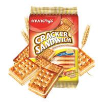 munchy's 马奇新新 夹心苏打饼干 奶油味 313g