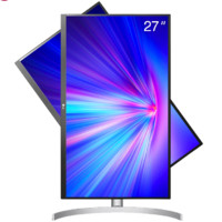 LG 乐金 27UL650 -W 27英寸 IPS FreeSync 显示器(3840×2160、60Hz、99%sRGB、HDR400)