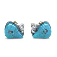 Hiby MUSIC 海贝音乐 crystal 6 入耳式挂耳式动铁有线耳机 透明蓝 3.5mm