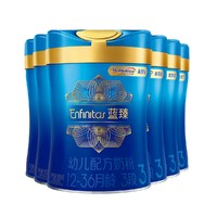 MeadJohnson Nutrition 美赞臣 蓝臻 幼儿配方奶粉 3段 900g*6罐