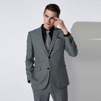 SELECTED 思莱德 邦德联名 男纯羊毛修身西装 L|42015Z501