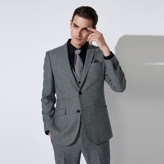 SELECTED 思莱德 邦德联名 男纯羊毛修身西装 L 42015Z501
