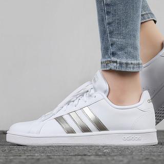 adidas 阿迪达斯 板鞋女鞋2021春夏季新款运动鞋网球鞋休闲小白鞋