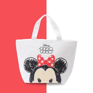 Disney 迪士尼 礼物便当包帆布铝箔保温袋饭盒袋大容量学生餐袋