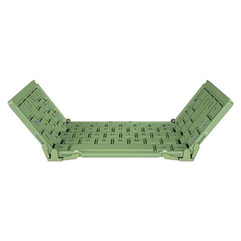 B.O.W 航世 ipadpro三折叠蓝牙键盘苹果平板专用可连手机无线外接笔记本电脑通用 安卓便携式迷你小键盘air3