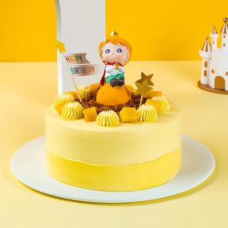 熊猫不走 生日蛋糕 2磅