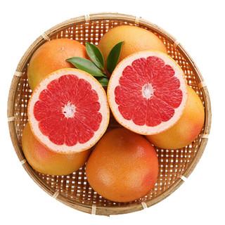 京觅 南非进口红西柚  一级中果 6粒装 单果重约250-300g
