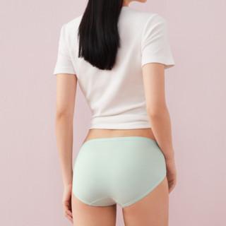 Purcotton 全棉时代 女士纯棉三角内裤套装 4100108901