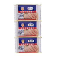 MALING 梅林B2 梅林午餐肉罐头 198g*3罐