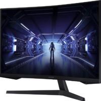 SAMSUNG 三星 玄龙骑士G5系列 C27G55TQWC 27英寸 VA 曲面 FreeSync 显示器(2560×1440、144Hz、HDR10)