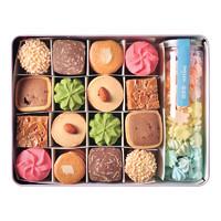 yotime 悠享家 什锦曲奇饼干 8口味 580g 礼盒装