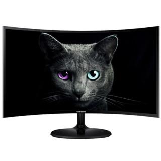 SAMSUNG 三星 C27F390FHC 27英寸LED曲面背光显示器